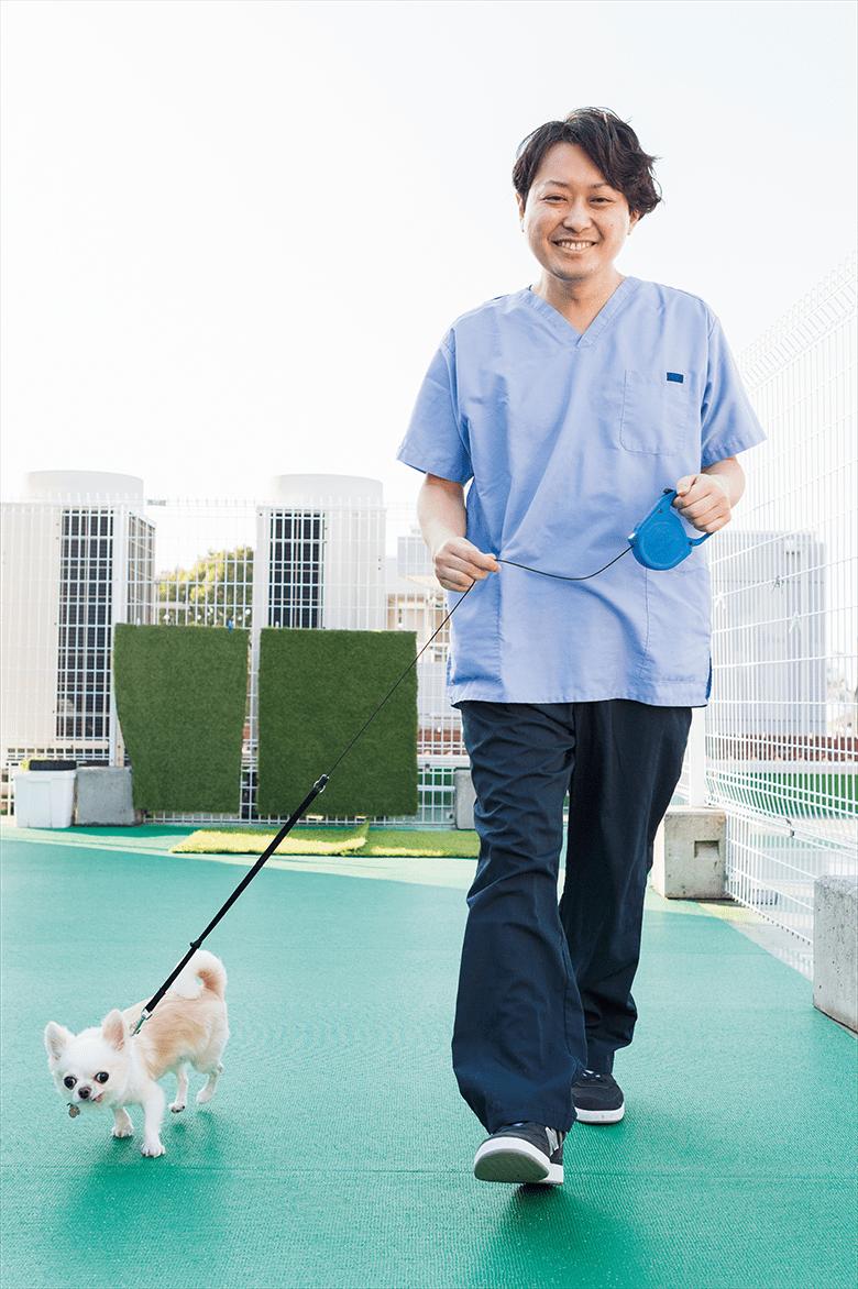 男性の動物看護師も増加中!