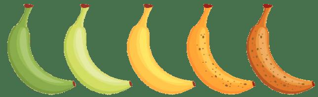 バナナの色検査