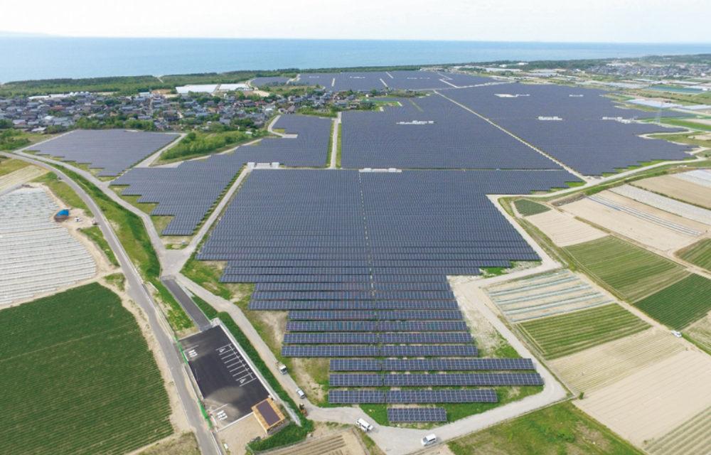 オリックスの太陽光発電
