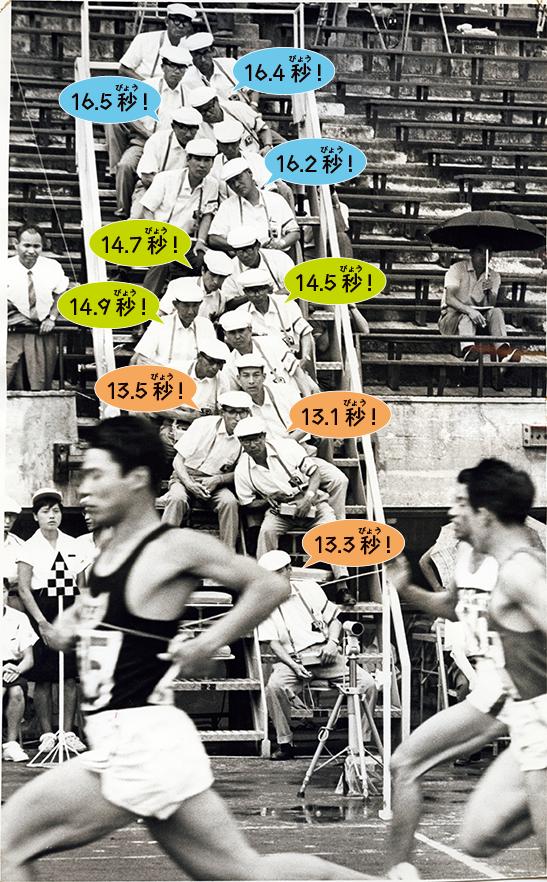 1964年頃の国立競技場で