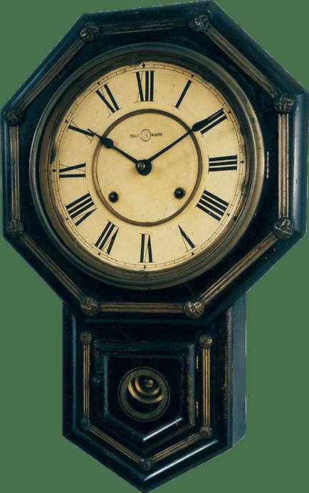 八日巻掛時計