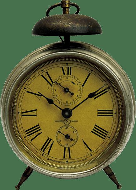 日本初の目覚時計