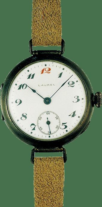 国産初の腕時計・ローレル