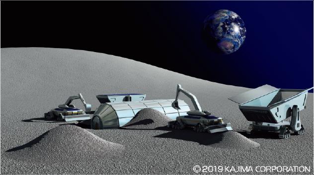 月面基地は無人でつくられる!?