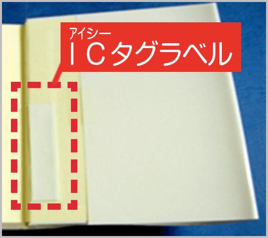 本の中にICタグ