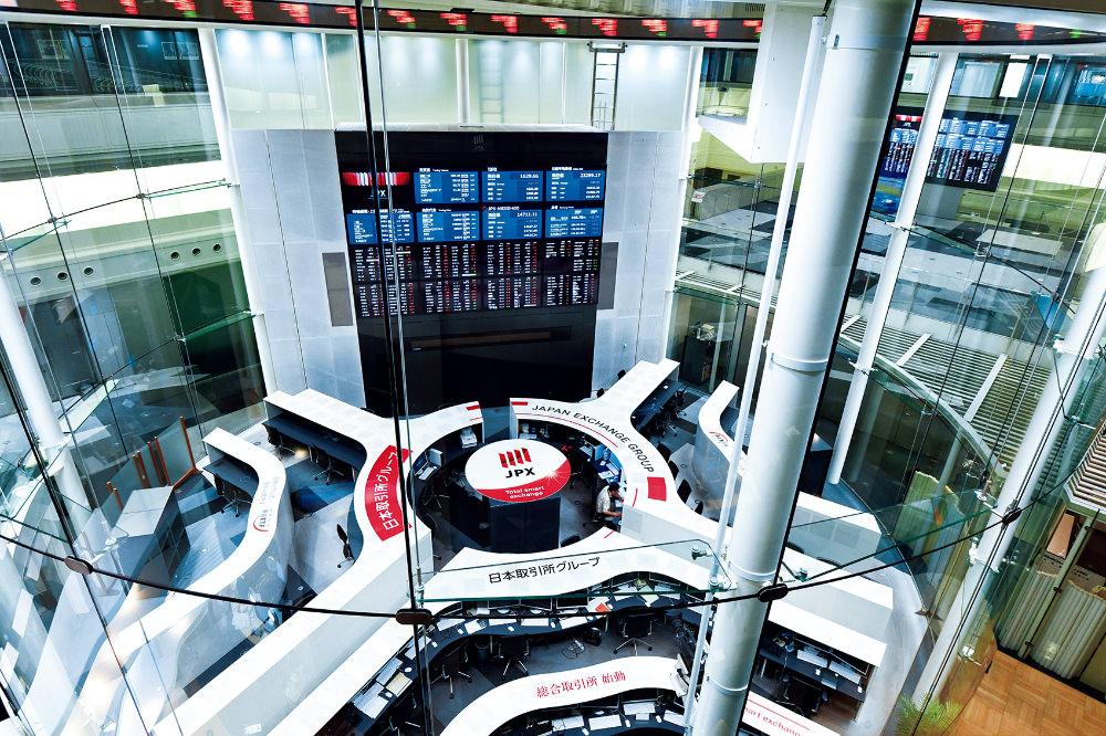 現在の東京証券取引所