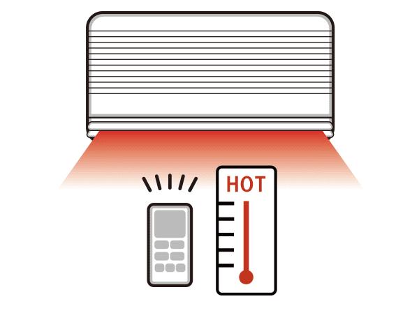 温度を調整