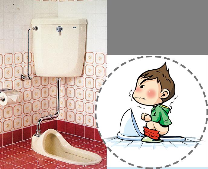 昭和前半の和式トイレ