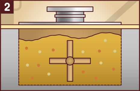 計量・混合:いろんなスパイスとハーブを計量して組み合わせ、混ぜ合わせます。