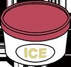アイスクリームは溶けないの?