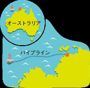東京から福岡までの距離とほぼ同じ!