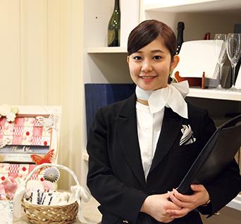 株式会社帝国ホテル ウェディングコーディネーター 橋本珠里さん