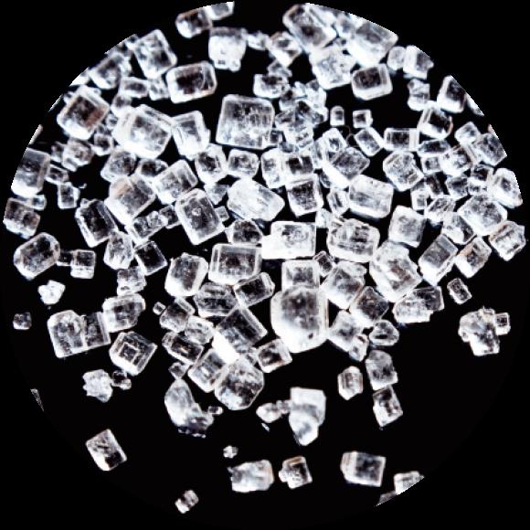 砂糖の結晶