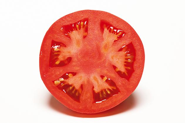 トマトの断面