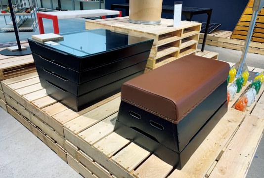 跳び箱の家具