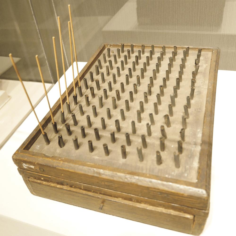 江戸時代に実際に使われていた線香時計