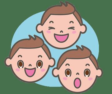 かむ動作は、口の筋肉を使います