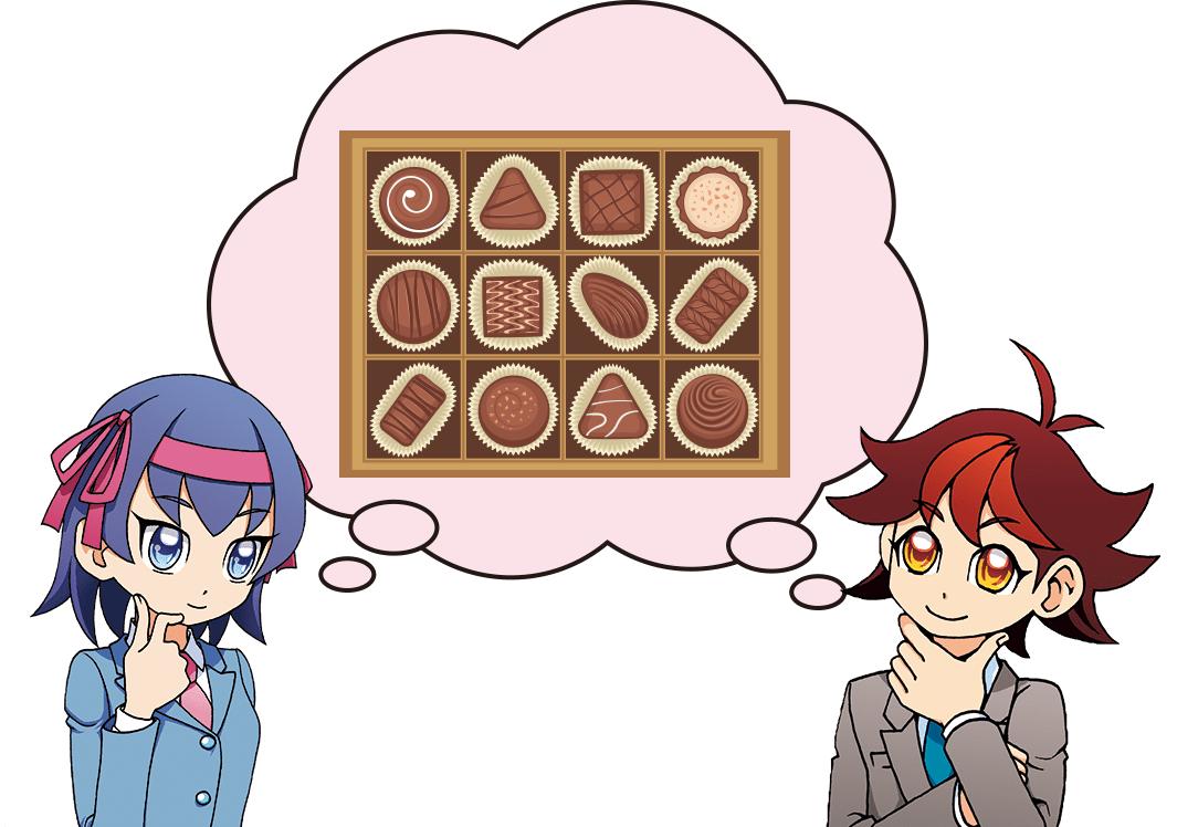 イギリスの工場でつくられたチョコレートを日本のお店に運べ!