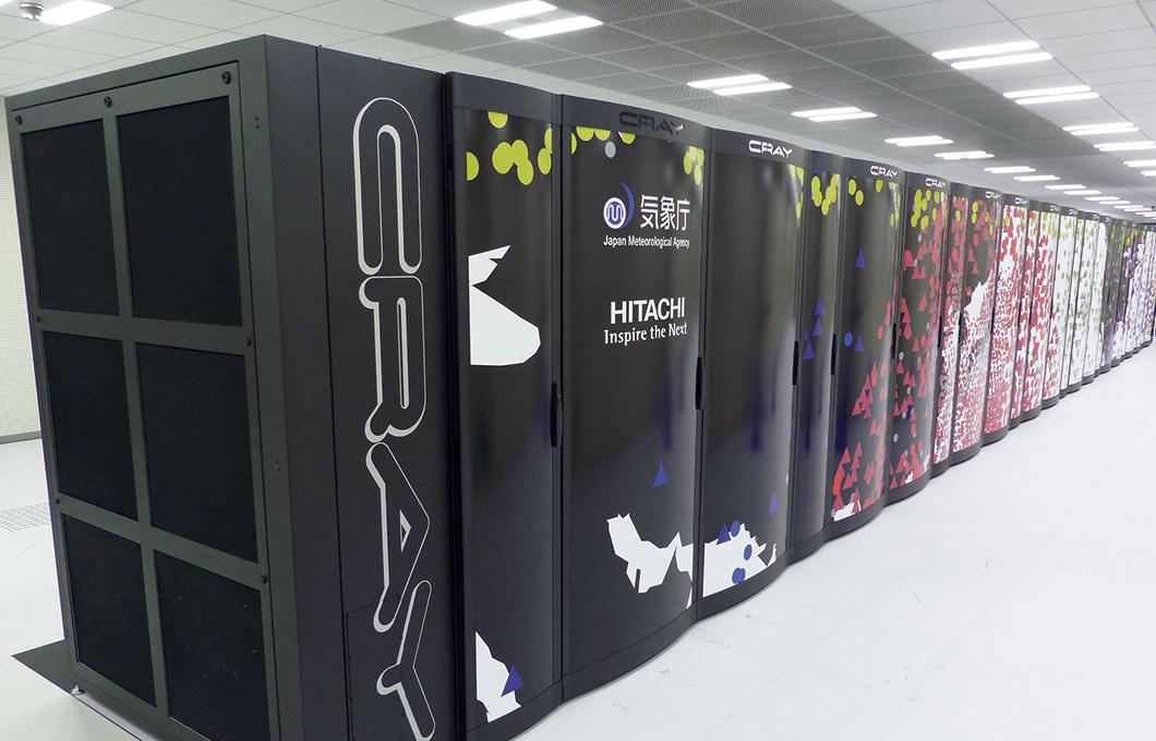 気象庁のスーパーコンピューター
