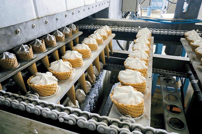 食べ物をつくる工場