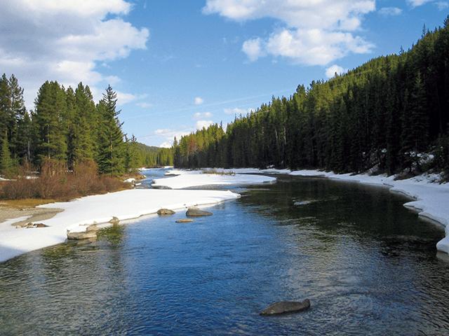 飲料水にも使われる河川