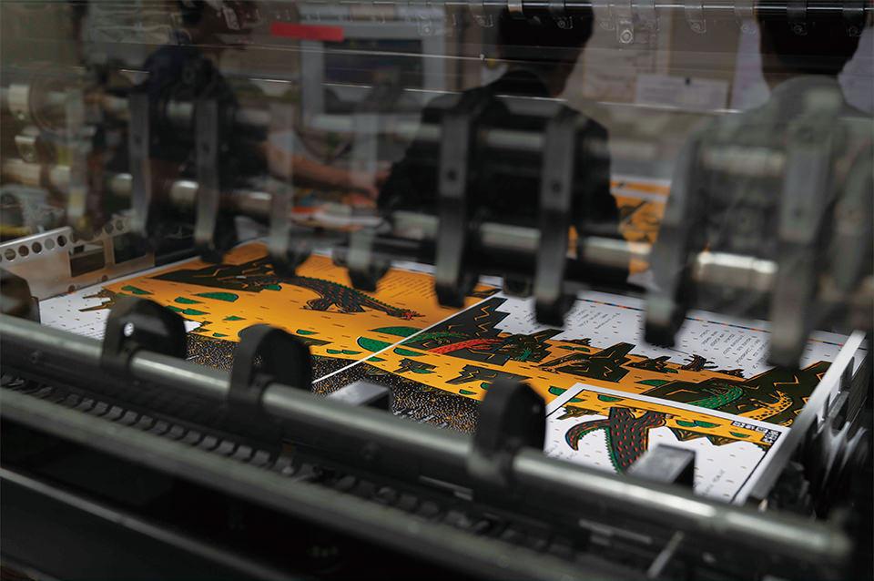 ここは印刷会社のおしごと!