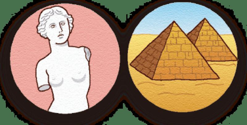 ビーナスとピラミッド