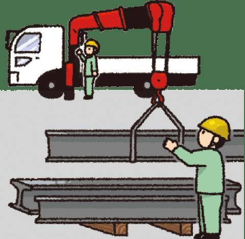 建設資材の運搬
