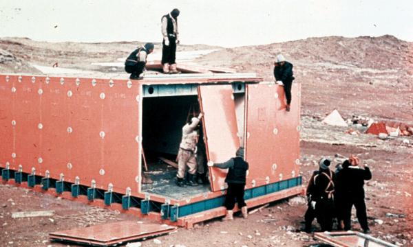 南極の昭和基地